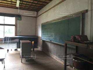 廃校の教室の写真・画像素材[1705327]