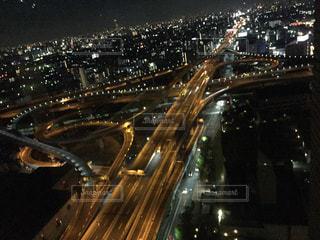 大阪の夜景の写真・画像素材[2173836]