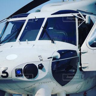 ヘリコプターの写真・画像素材[713002]