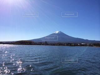 船からの富士山 - No.713087