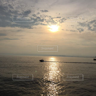 海に沈む夕日 - No.713072