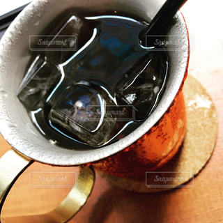 アイスコーヒーの写真・画像素材[713773]