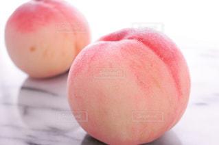 桃のアップの写真・画像素材[714517]