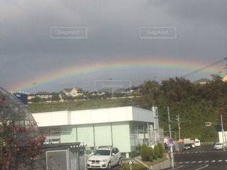 虹の街の写真・画像素材[715219]