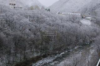 雪に覆われた山 - No.919630