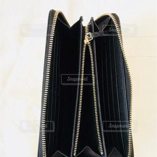 財布のジッパーの写真・画像素材[1030728]