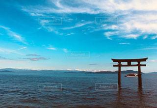 琵琶の海の写真・画像素材[1060843]