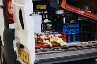 トラックの積荷の写真・画像素材[1070134]