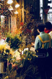 花屋での風景の写真・画像素材[1084141]