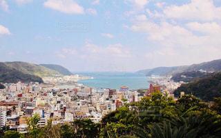 奄美大島の高台から臨む海 - No.1151996