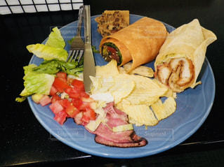 ハイカロリーな食事の写真・画像素材[1210424]
