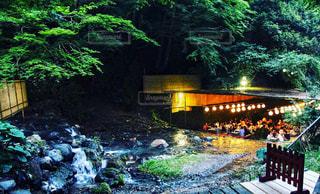 京の川床の写真・画像素材[1362517]