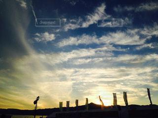 空には雲のグループ - No.719928