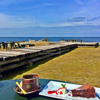 海辺のカフェ - No.718075
