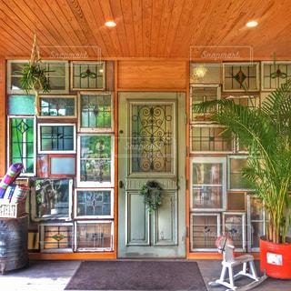 かわいい入り口の写真・画像素材[984798]
