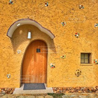 かわいい入り口の写真・画像素材[984802]