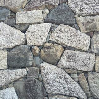 石の壁の写真・画像素材[718672]