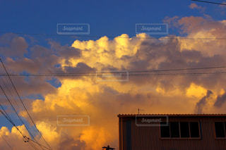 空の雲の写真・画像素材[732515]