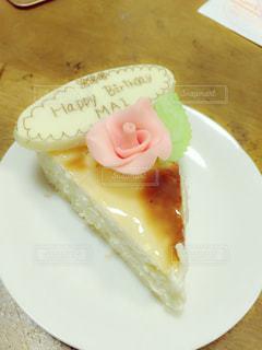 自分用誕生日ケーキの写真・画像素材[719774]