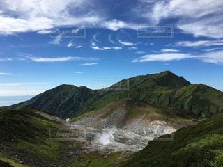 山の側のビューの写真・画像素材[720635]