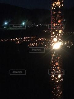 灯篭祭りの写真・画像素材[985589]