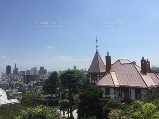 神戸を見渡せる北野天満神社から - No.721004