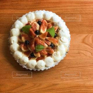木製の表面寿司の写真・画像素材[721006]