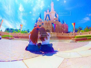 シンデレラ城の写真・画像素材[721373]