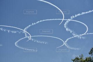 ブルーインパルスの写真・画像素材[721907]