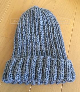手編みのニット帽の写真・画像素材[723102]