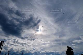 66.飛行機雲の写真・画像素材[723832]