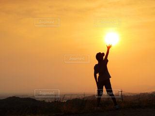 夕日の写真・画像素材[739583]
