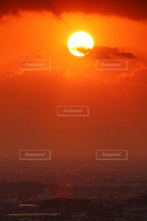夕日の写真・画像素材[763374]