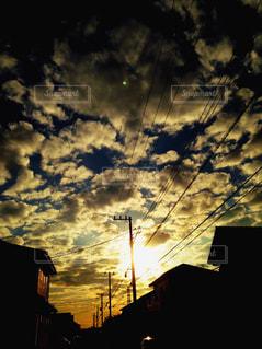 日没の前にトラフィック ライト - No.746498