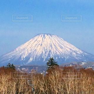 雄大な蝦夷富士。の写真・画像素材[725048]