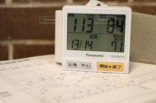 血圧管理は毎日ね!の写真・画像素材[815794]