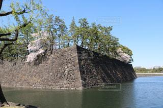 江戸城石垣とお堀!の写真・画像素材[1099630]