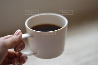 一杯のコーヒーの写真・画像素材[782373]