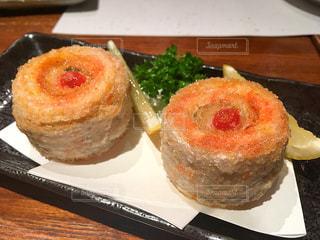 太刀魚の梅ロール揚げ - No.725080