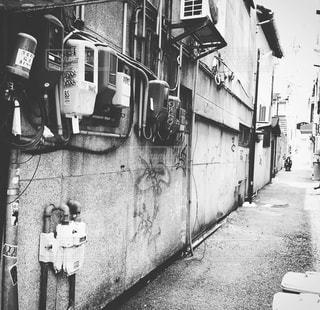 路地裏の写真・画像素材[725159]