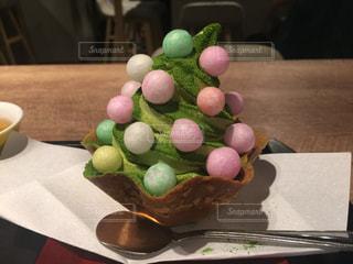 一足早いクリスマスツリーの写真・画像素材[743070]