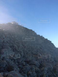 富士山9合目から山頂を見るの写真・画像素材[725634]
