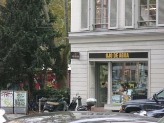 街の通りに駐車の写真・画像素材[726363]