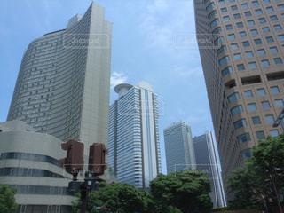 西新宿のビル群の写真・画像素材[754838]
