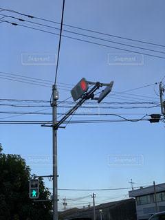 鹿児島の信号機の写真・画像素材[2480437]