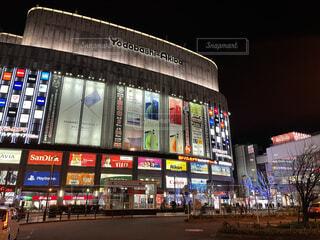 ヨドバシカメラ アキバ 秋葉原の夜景の写真・画像素材[4111137]