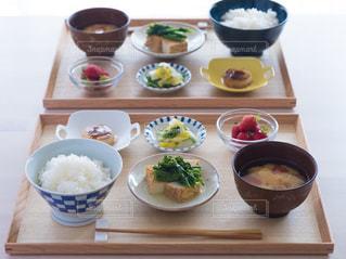 和朝食の写真・画像素材[1088487]