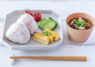 和朝食の写真・画像素材[2435357]