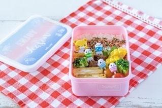 子供用お弁当の写真・画像素材[2461462]
