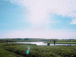 広大な草原の写真・画像素材[812672]